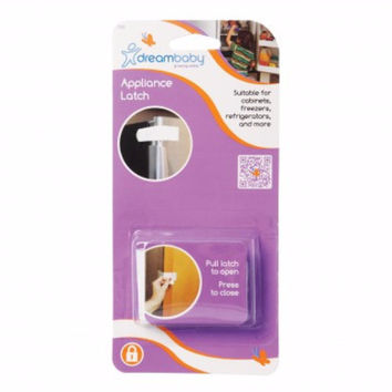 Dreambaby Hook & Loop Appliance Safety Latch - White