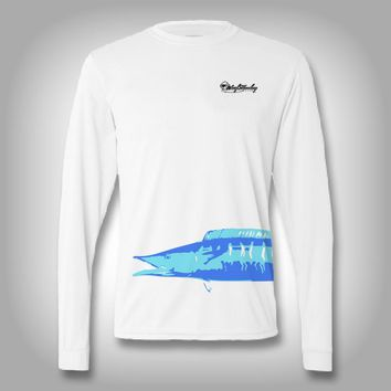 Fish Wrap Shirt - Wahoo - Performance Shirts - Fishing Shirt