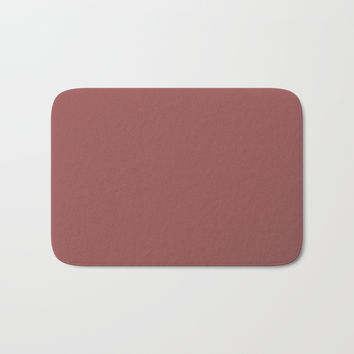 Marsala Bath Mat by spaceandlines
