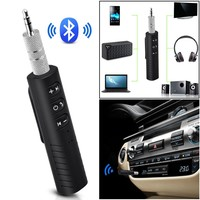 Car Wireless Bluetooth Receiver 3.5mm Jack Bluetooth Audio Music Receiver Adapter Speaker Headphone Adapter Audio Stereo