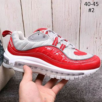 NIKE AIR MAX 98 2018 new trend men and women fashion sports shoes F-A36H-MY #2