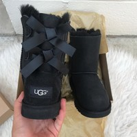 UGG AUTHENTIC KIDS BAILEY BOW BOOTS