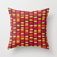 holly stack Throw Pillow by Sharon Turner | Society6