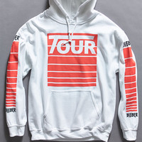 Justin Bieber Stadium Tour Stripes Pullover Hoodie at PacSun.com
