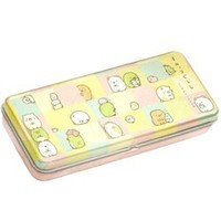 "San-X Sumikko Gurashi ""Things in the Corner"" 7.5"" Metal Pen Case: 2"
