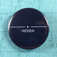 "Skyrim hidden pin 1.25"" badge pinback"