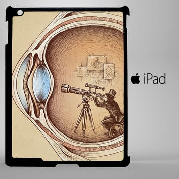 Extraordinary Observer A0366 iPad 2, iPad 3, iPad 4, iPad Mini and iPad Air Cases - iPad