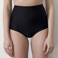 Black high waisted bottoms by MinnowBathers on Etsy