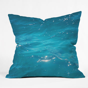 Catherine McDonald Coral Sea Throw Pillow