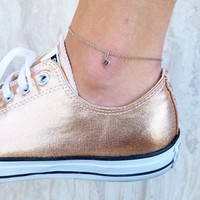 Scorpio Anklet - Sterling Silver