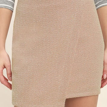 Mademoiselle Blush Mini Skirt