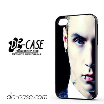 Andy Biersack Black Veil Brides Half Face DEAL-765 Apple Phonecase Cover For Iphone 4 / Iphone 4S