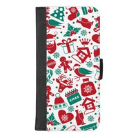 Christmas Background iPhone 8/7 Plus Wallet Case