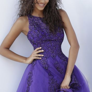 Jovani JVN63907- Purple
