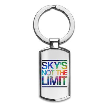 'Sky's Not The Limit' Key Chain