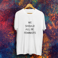 We should all be feminists Shirt Feminist Shirt The future is female T-shirt Gilrs Power Tshirt
