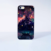 Tangled Castle  Plastic Case Cover for Apple iPhone 5 5s 6 Plus 6 4 4s  5c