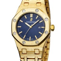 G AP Audemars Piguet Fashion Men Watch L-PS-XSDZBSH Gold