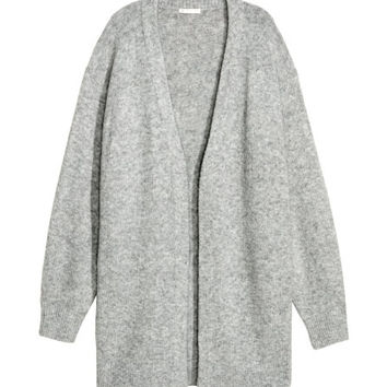 Knit Wool-blend Cardigan - from H&M