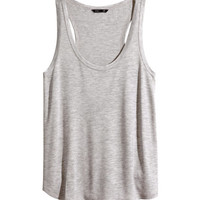 Jersey Tank Top - from H&M