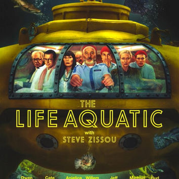 The Life Aquatic with Steve Zissou 11x17 Movie Poster (2004)