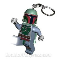 Lego Boba Fett Key Light, Fun Gift Idea
