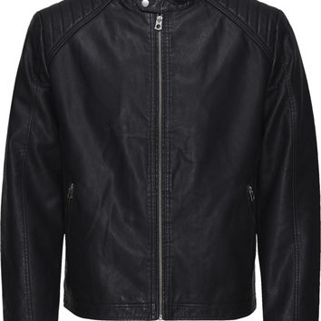 Jack & Jones McNelson PU Biker Jacket