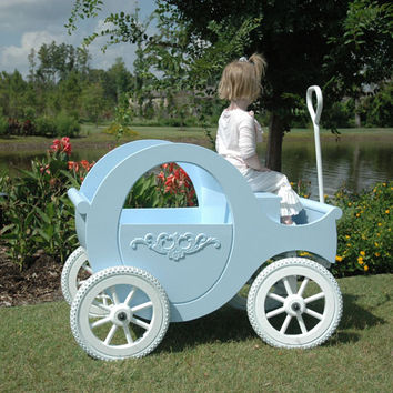 Sleeping Beauty Blue Princess Wagon
