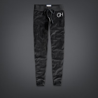 Gilly Hicks Velour Vintage Skinny Sweatpant