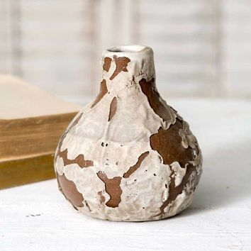 Ceramic Wildflower Vase - Set Of 4