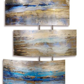 Serenity Contemporary Wall Sculpture