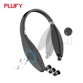 Plufy Bluetooth Earphone Headphone Wireless Speaker Sport Headphone Bass Stereo Headset Noise Cancelling For iphone Xiaomi L29
