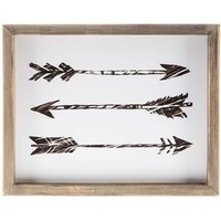Triple Arrow Framed Wall Decor | Shop Hobby Lobby