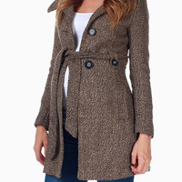 Brown-Maternity-Coat