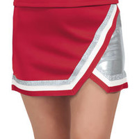 Metallic Edge Panel Cheer Uniform Skirt by Chasse