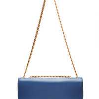 Big Box Leather Trouble Bag in Blue