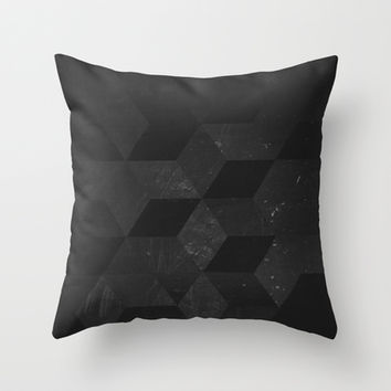 Fade to Black Throw Pillow by DuckyB (Brandi)