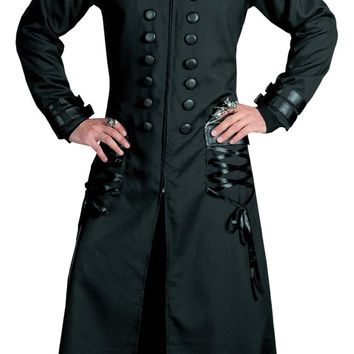 Goth Coat Adult Large Halloween costume Women's
