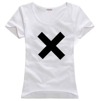 Coexist xx Crystalised Islands VCR Chill Out English indie pop band couple clothes woman cotton T-shirt