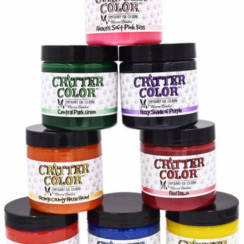 Critter Color - Temporary Dog Fur Coloring
