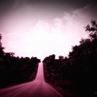 Country Road Trip, Digital Art Print, Home Decor, Ready to Frame Photo, Wall Hanging, Nebraska Photograph, Travel, Sky, Clouds, Trees, Plum