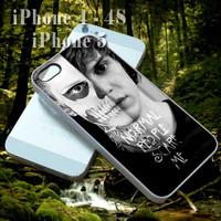 Tate Langdon American Horror Story - Custom Cell Phone Case - iPhone 4 4s,5,5s,5c - Samsung S3,S4 - iPod 4, 5 - HTC One,One X - BB Q10,Z10