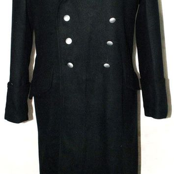 WWII GERMAN ELITE M32 FIELD BLACK WOOL OVERCOAT GREATCOAT COAT MILITARY UNIFORM- World military Store