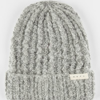 Neff Jen Beanie Grey One Size For Women 26524211501