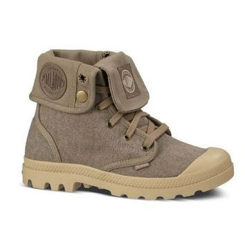 Palladium Pampa Baggy - Boulet Fold-Over Lace-Up Sneaker Boot