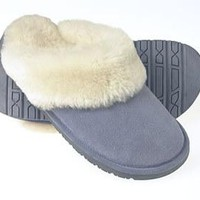 Tamarac by Slippers International Women's Scuff Shearling Slipper