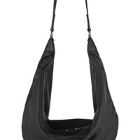 The Row - The Sling leather-trimmed shell shoulder bag