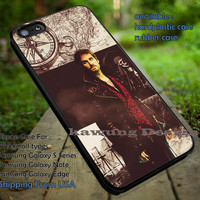 Captain Hook Once Upon a Time Believe iPhone 6s 6 6s+ 5c 5s Cases Samsung Galaxy s5 s6 Edge+ NOTE 5 4 3 #movie #disney #animated #onceuponatime dt