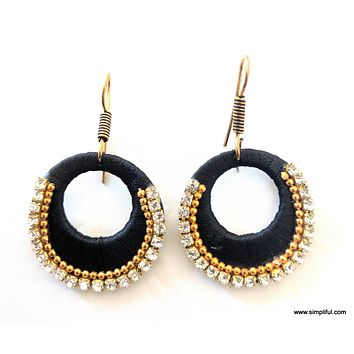 Silk Thread Trendy Ramleela Drop Earring