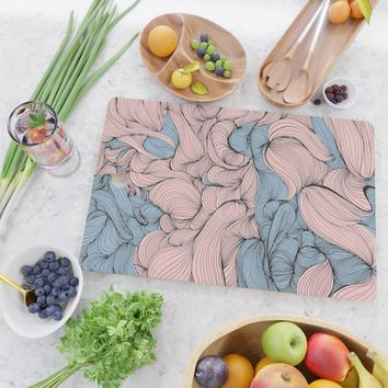 In Mixed Company Cutting Board by duckyb